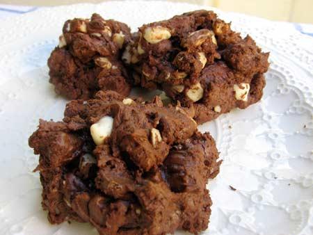 Chunky-chocolate-cookies