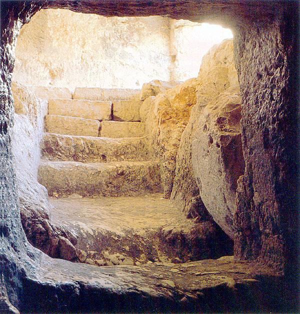 Icon empty tomb