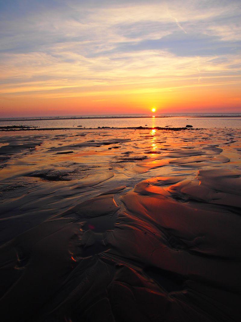 Cleveleys sunset 145