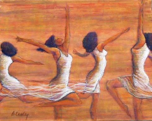 4 women dancing 2